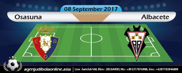 Osasuna vs Albacete прогноза за 07.09.2017